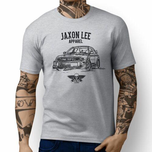 Jaxon Lee Illustration For A Mitsubishi Evo VI Tommi Makinen Edition Motorcar Fa