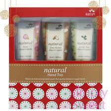 FLOR DE MAN Somang Natural Hand Cream TRIO Gift Set, Christmas Gift, US Seller!