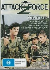 ATTACK FORCE Z - MEL GIBSON - AUSSIE CLASSIC - NEW & SEALED DVD