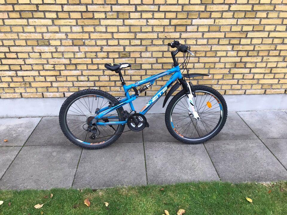 Drengecykel, mountainbike, X-zite