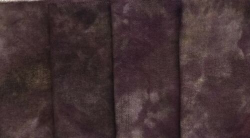 "1 /""Chimney Soot/"" dyed rug hooking wool fabric Fat Quarter 100/% Wool"