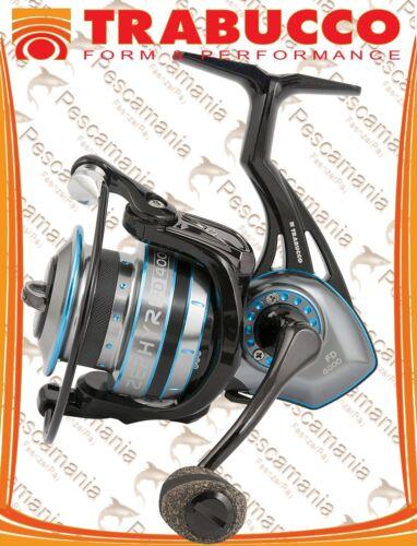 Reel Trabucco Zephyr Fd 3000-4000-6000 Oversized Spool Spinning Bolo Feeder