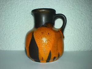 Vase-STEULER-WGP-Mid-Century-60s-70s-Keramik-498-10-TOP