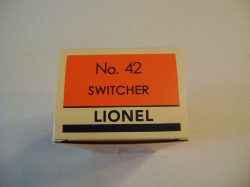 Lionel 42  Picatinny Arsenal Switcher  Licensed Reproduction Box