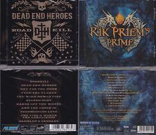 2 CDs, Dead End Heroes - Roadkill + Rik Priem's Prime (2014), Melodic Hard Rock