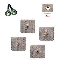 fb 8 Eletrodi stimolazione Clip 4x4cm Medical House Laica Sintesi clips bottone
