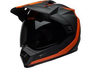 Casque-moto-de-route-integral-BELL-MX-9-Adventure-mips-switchback-noir-orange