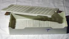 Asp 13837 Advanced Sterilization Products Instrument Tray Container 23x11x4