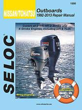 1992-2013 Nissan Tohatsu 2-140 HP 2/4 Stroke Seloc Repair Manual 9.8 6 5 4 0799