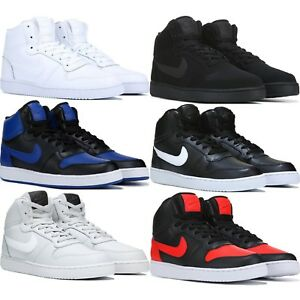 new product fee33 92371 Image is loading NIKE-EBERNON-HIGH-TOP-MEN-039-S-SNEAKERS-