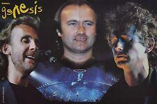 GENESIS - A3 Poster (ca. 42 x 28 cm) - Band Clippings Fan Sammlung NEU