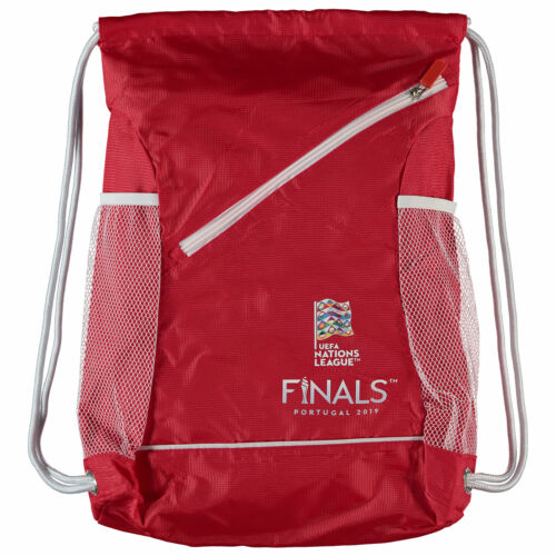 Nations League Football Gym Bag Red