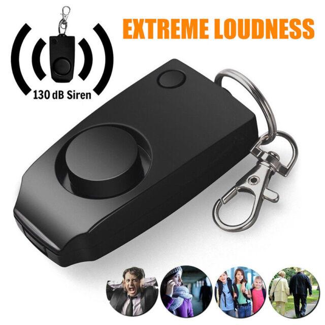 Safe Sound Personal Alarm Self-Protection Anti-rape Emergency Keychain Siren