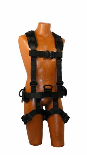 Details about  /Premium Vest Fall Protection Harness
