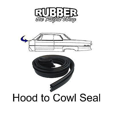 1948-1949 Cadillac /& Oldsmobile Hood to Cowl Seal New