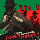 Power Punch [Digipak] by Owiny Sigoma Band (CD, Apr-2013, Brownswood)