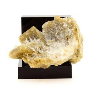 Siderite-Quartz-Calcite-493-1-Ct-Mesage-Mine-Vizille-France-Rare