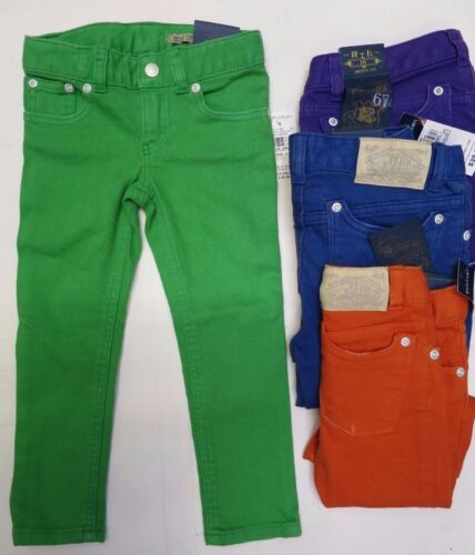 Girls trousers jeans skinny DESIGNER age 2 3 4 5 6 7 8 9 10 11 12 13 14 years
