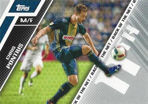 BOTN 1-15 2017 Topps Major League Soccer /'Back of the Net/' Chase Insert Card