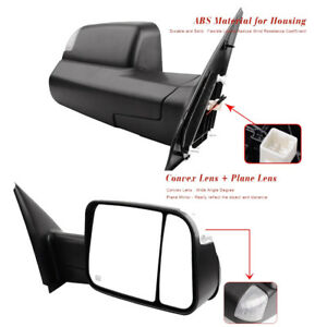 For-02-08-Dodge-Ram-Pickup-Towing-Mirrors-Power-Heated-Tow-Side-Mirror-Pair-Set