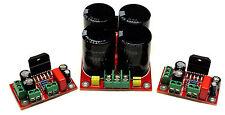 Coppia schede Ampllificatore LM3886 e alimentatore (DIY, power amp power supply)