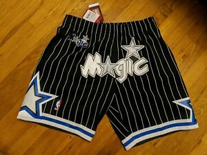 dcb2575f411 Custom Mitchell   Ness Orlando Magic Just Don Style Basketball ...