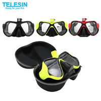 Camera Mount Diving Mask Scuba Snorkel Swimming Goggles For Gopro Hd Hero 3 3+ 4