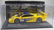 MCLAREN BMW F1 GTR #27 Goodwin Ayles PARABOLICA GT1 FIA GT 1997 MINICHAMPS 1:43
