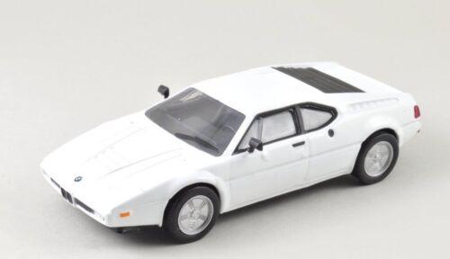 DieCast Modellauto 1:43 Agostini BMW M1 Series weiß