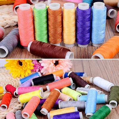 250 Yard Polyester Embroidery Sewing Machine Threads 60 different Colours Set