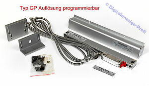 220mm-Glasmassstab-die-Aufloesung-ist-programmierbar-umstellbar-im-Stecker