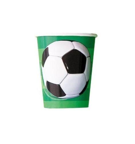 Paquete De Fiesta Fútbol Placas Tazas Servilletas Mantel Fiesta Bolsas invita a