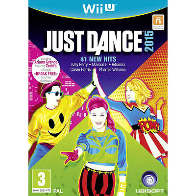 Just Dance 2015 Nintendo Wii U * NEW SEALED PAL *