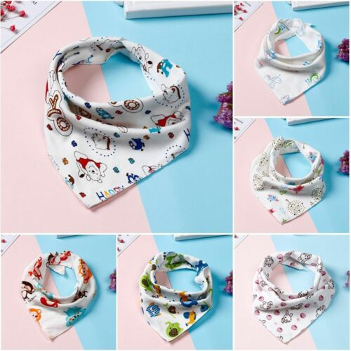 1//5//10pieces Triangle Bavoirs Bébé En Coton Dribble Towel Nourrir La Blouse