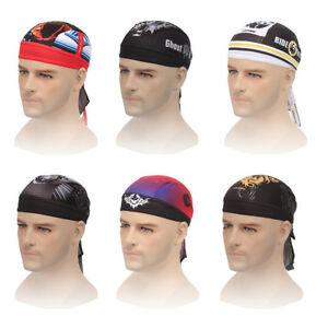 Sports Practical Bicycle Bike Cycling Pirate Hats Caps Bandana Headbands Scarf
