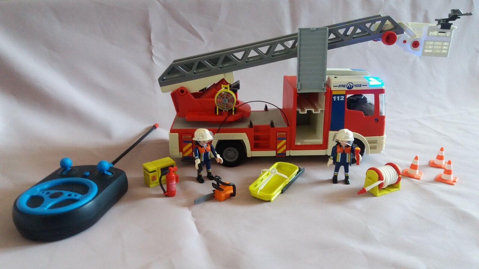 Playmobil Feuerwehrauto 4820 inkl. RC-Modul-Set (mit Fernbedienung)