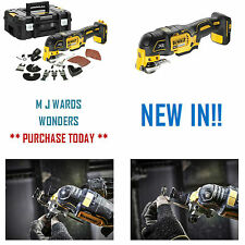 DeWalt DCS355N 18v XR Li-ion Brushless Multi Tool Bare Unit, TStak + Accessories