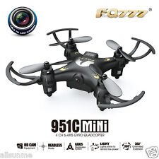 FQ777 951C 2.4G 4CH 6-Axis Gyro 0.3MP Camera RTF RC Quadcopter Drone Toy Gift UK