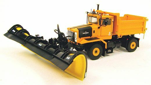 TWH / Sword Oshkosh P Series Snow Plow 4x4 Yellow 1/50 Die-cast Brand-new MIB