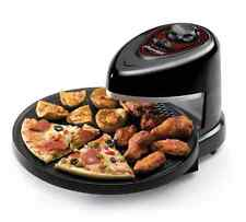 Rotating Baking Nonstick Pan Presto Pizzazz Pizza Wings Food Cooker Oven Kitchen