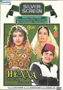 Henna Rishi Kapoor Zeba Bakhtiar Bollywood Hindi Dvd Ebay