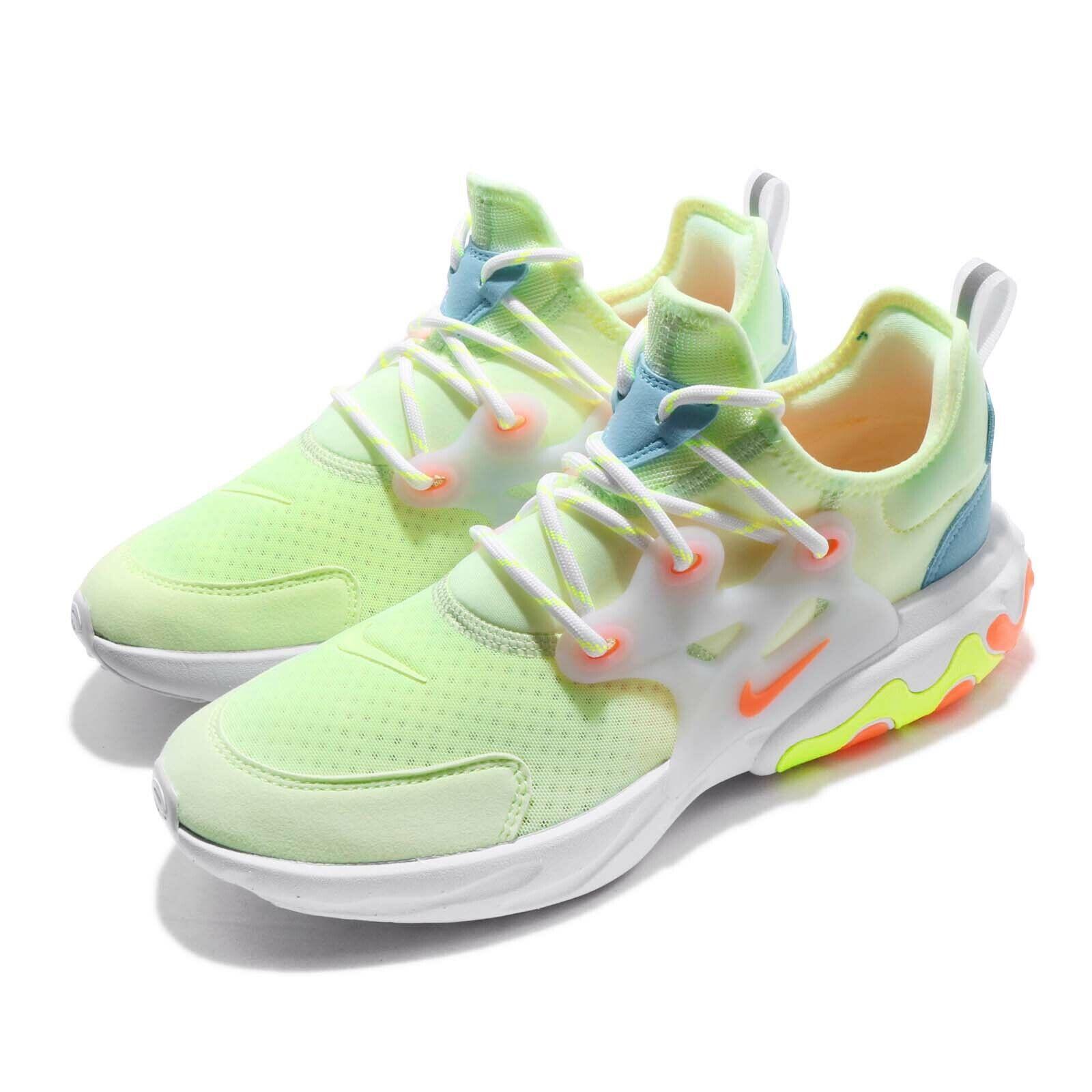 Nike React Presto GS Nauwelijks Volt Hyper Crimson Kind Youth Womannen schoenen BQ4002-700