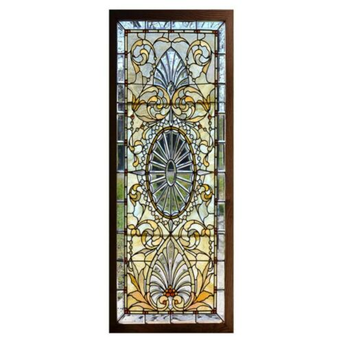 Static-Cling Frosted Stained Glass Window Door 3D-Sticker Film Privacy Decor