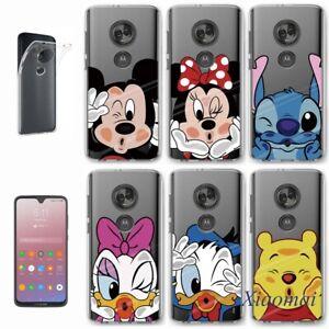 Cute Cartoon Clear Phone Case Cover For Motorola Moto G E 5 6 7 8 Play Plus Z3 Ebay