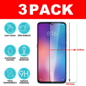 For-Xiaomi-Mi-Redmi-9-8-7-6-Note-Tempered-Glass-Screen-Protector-CRYSTAL-CLEAR