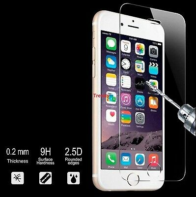 100% Genuine Tempered Glass Screen Protector Protection For Apple Iphone Seven Diversifizierte Neueste Designs