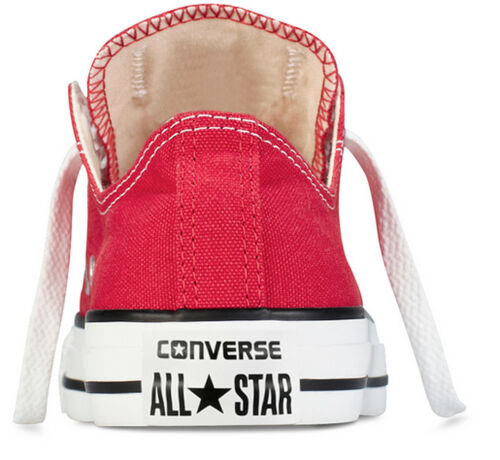 Uk Ox Converse Star All Canvas 8 Trainer Womens Size 3 Red 88gUwHEq