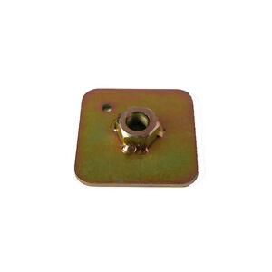 4-x-FIA-Einschweissplatte-fuer-Gurtschrauben-Stahl-Verstaerkungsplatte-Gurtplatte