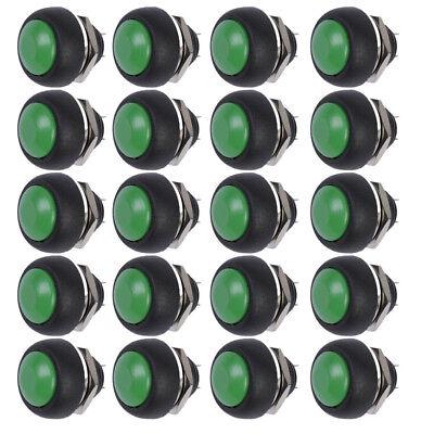 20 X Rot 12mm Mini Momentary Klingelknopf Drucktaster Taster Druckschalter