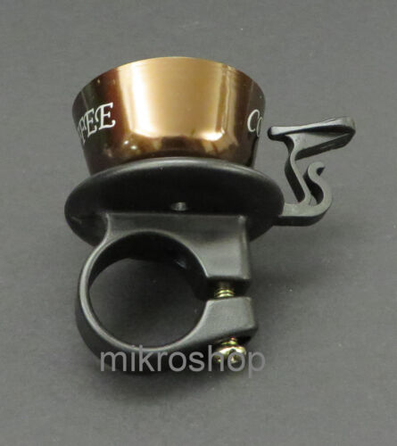 Bike Bell Bicycle Bell Ring Coffee Cup Brown